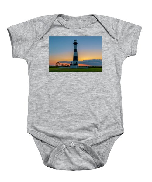 Bodie Island Lighthouse, Hatteras, Outer Bank Baby Onesie