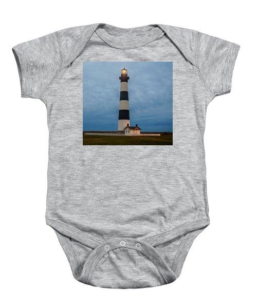 Bodie Island Lighthouse  Baby Onesie
