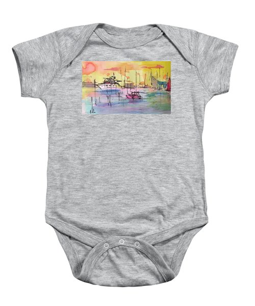 Boothbay 2  Baby Onesie