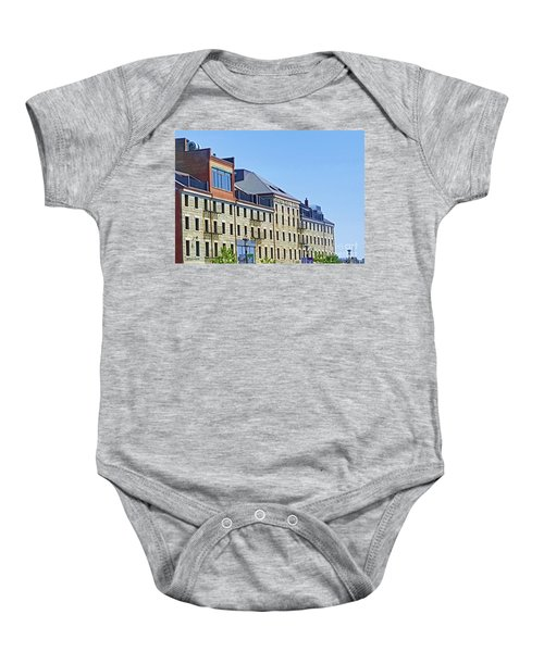 Boston Custom Block By Roberta Byram Baby Onesie