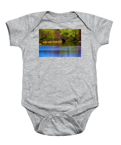 Bridge In Central Park Baby Onesie