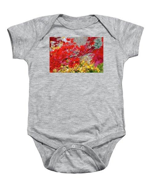 Brilliant Fall Color Baby Onesie