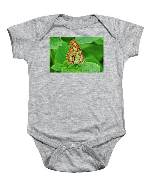 Butterfly Leaf Baby Onesie