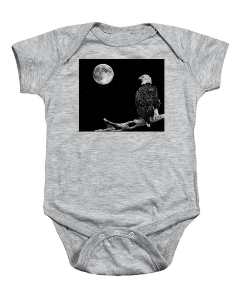 By The Light Of The Moon Baby Onesie