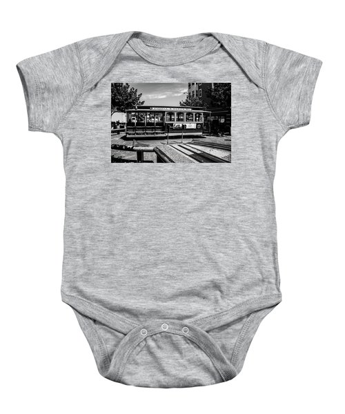 Cable Car Turn Around Baby Onesie
