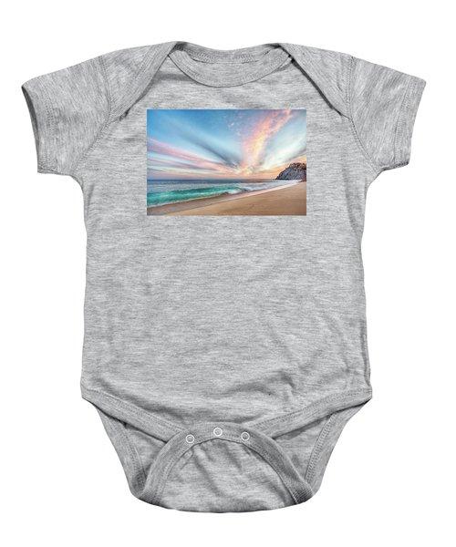 Cabo San Lucas Beach Wave Sunset Baby Onesie