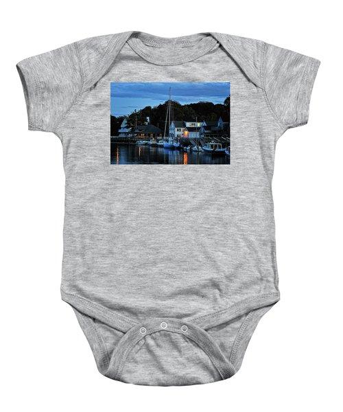 Camden Maine Twightlight Baby Onesie