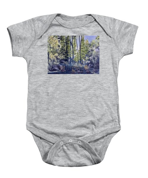 Camp Trail Baby Onesie