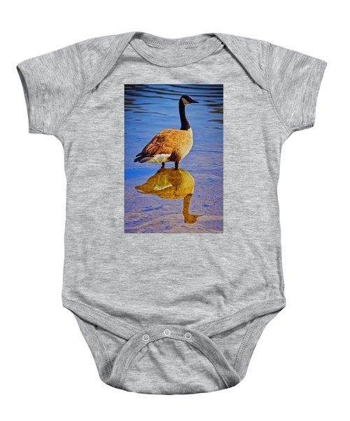 Canadian Goose Baby Onesie