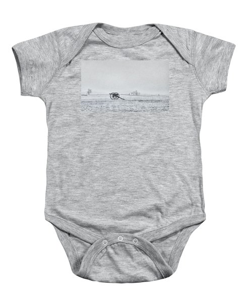 Cannon Out In The Field Baby Onesie