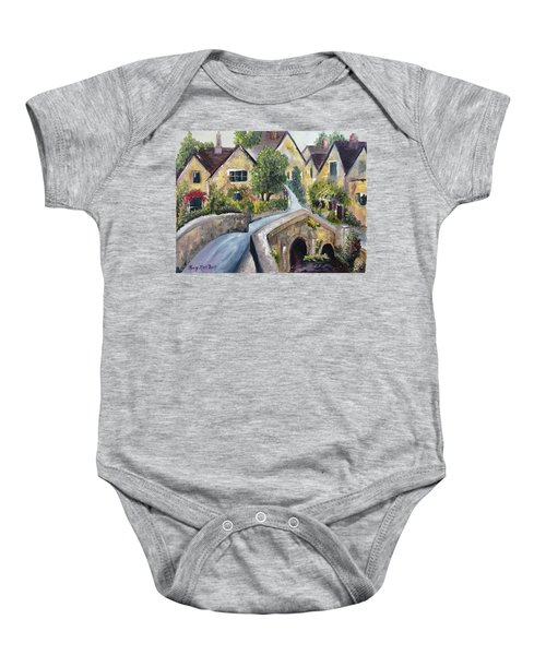 Castle Combe Baby Onesie
