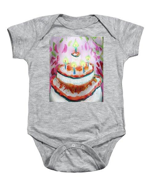 Celebration Cake Baby Onesie