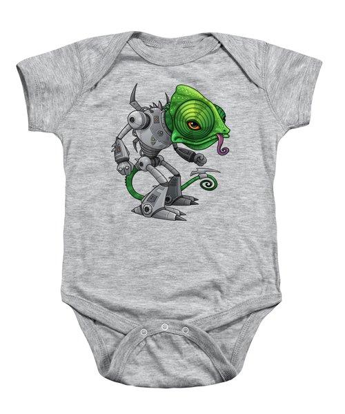 Chameleozoid Baby Onesie