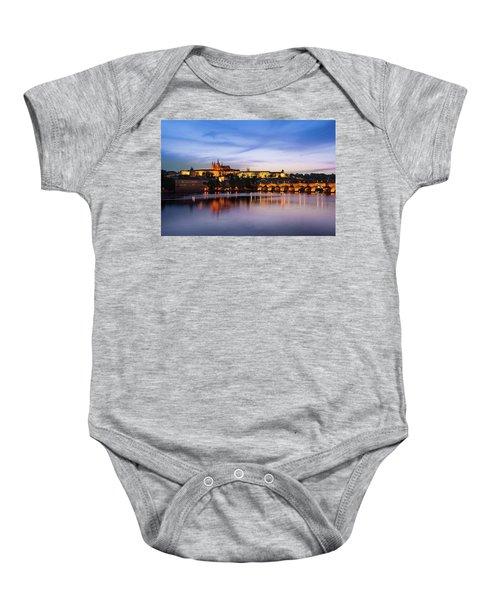Charles Bridge Baby Onesie