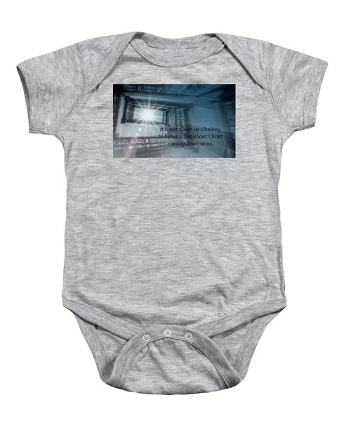 Christ Alone Baby Onesie
