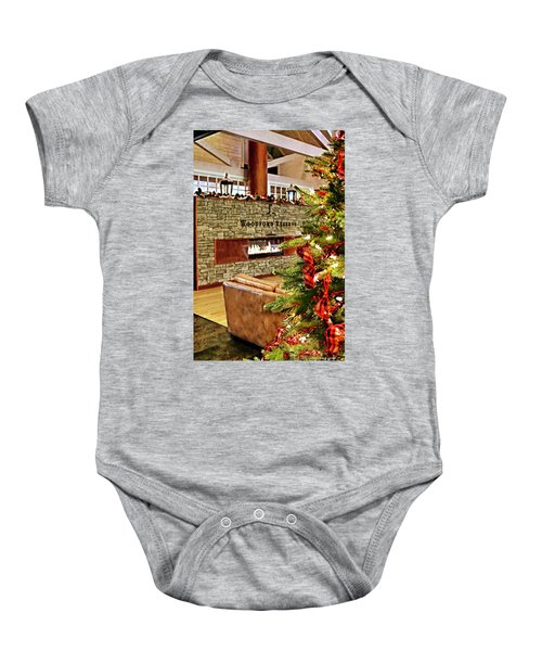 Christmas At Woodford Reserve Baby Onesie