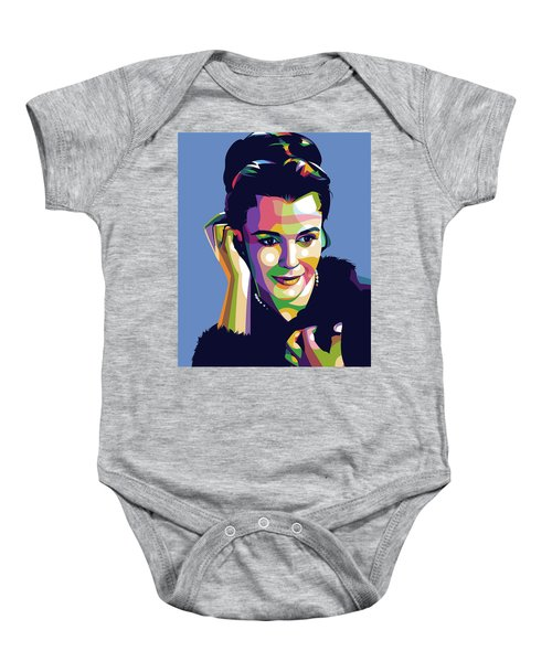 Claire Bloom Baby Onesie