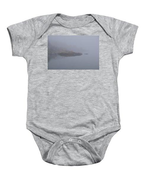 Cliffs In Fog Baby Onesie
