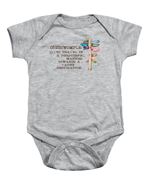 Coddiwomple Baby Onesie