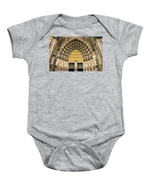 Cologne Cathedral Baby Onesie