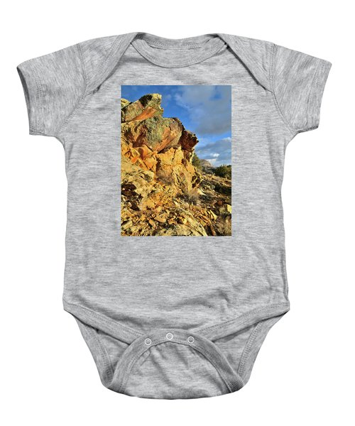 Colorful Crags In Colorado National Monument Baby Onesie