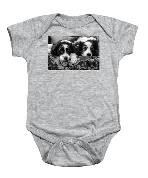 Couch Potatoes Baby Onesie