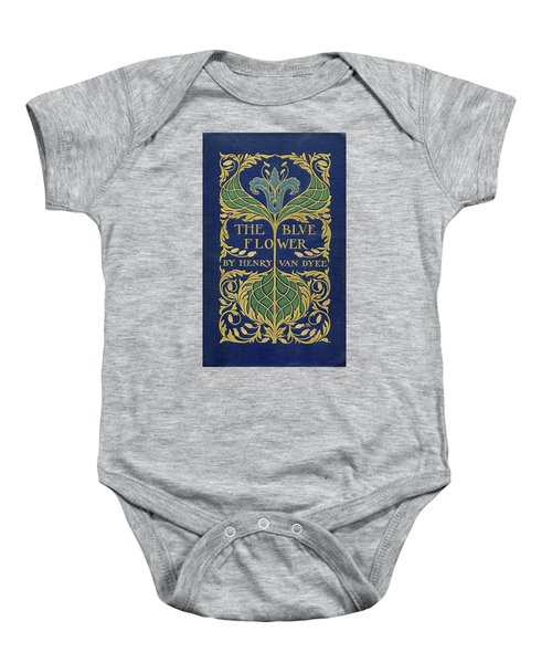 Cover Design For The Blue Flower Baby Onesie