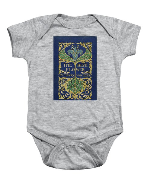 Cover Design For The Blue Flower Baby Onesie