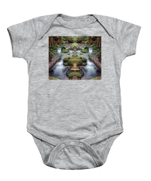 Creek Diamonds #1n Baby Onesie