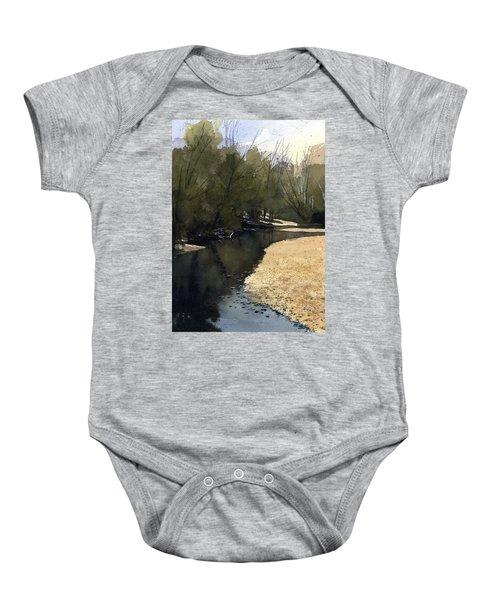 Crow Creek, Augusta, Missouri Baby Onesie
