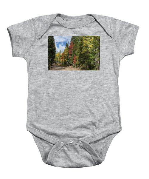 Baby Onesie featuring the photograph Cruising Colorado by James BO Insogna