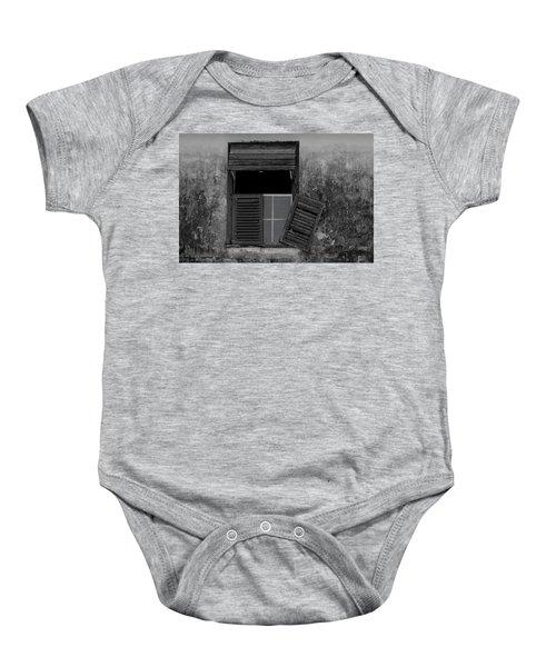 Crumblling Window Baby Onesie