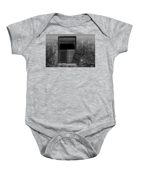 Crumblling Window Baby Onesie