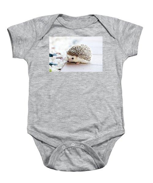 Cute Hedgeog Baby Onesie
