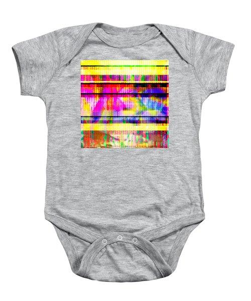 Databending #2 Hidden Messages Baby Onesie