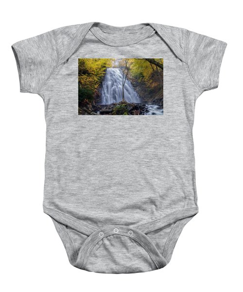 Dawn At Crabtree Falls Baby Onesie