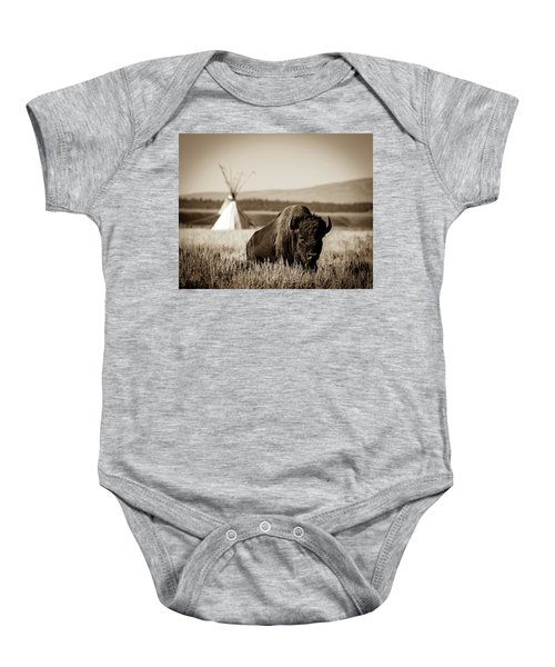 Baby Onesie featuring the photograph Days Gone By by Mary Hone