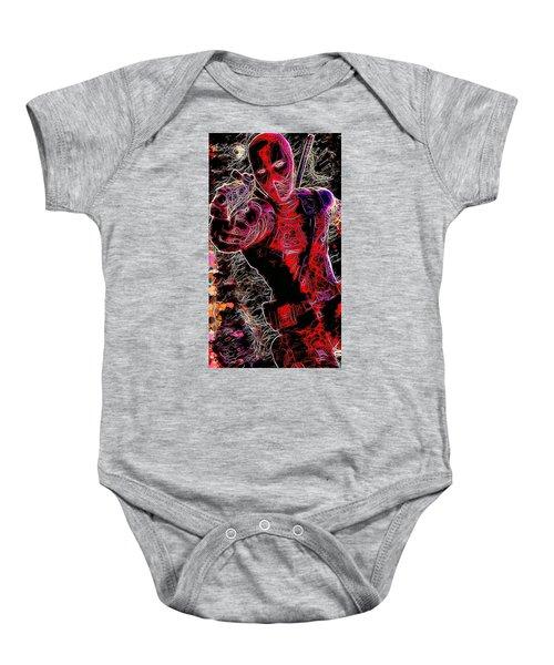 Deadpool Baby Onesie