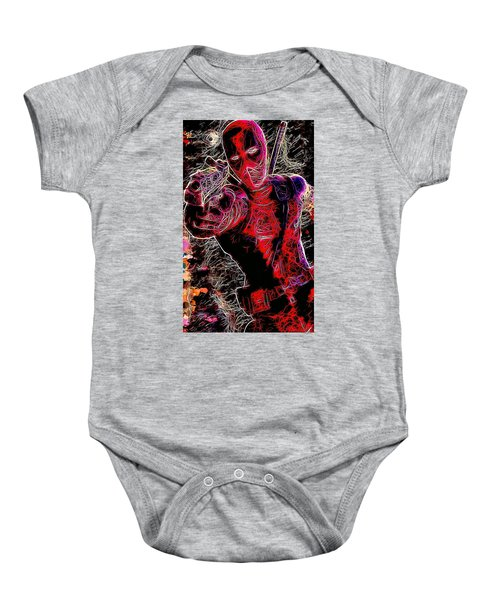Deadpool Baby Onesie