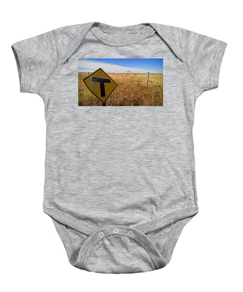 Decision Time Baby Onesie