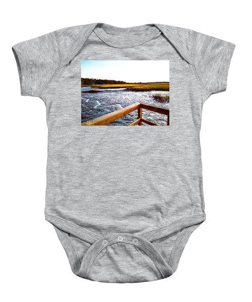 Dock Point Baby Onesie