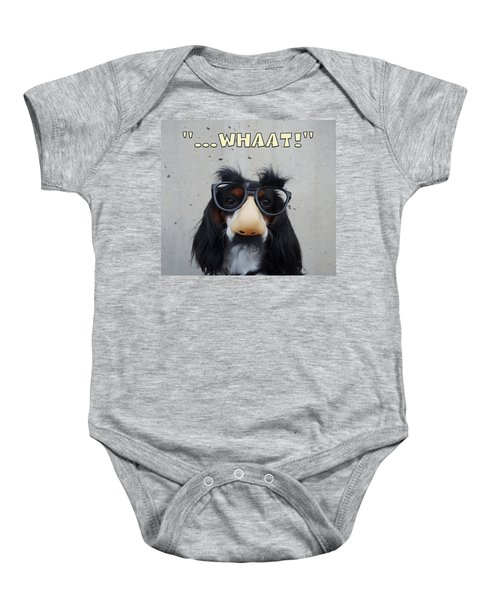 Dog Gone Funny Baby Onesie