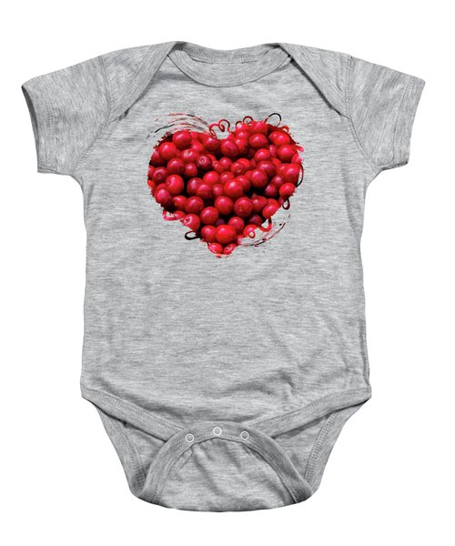 Door County Buckets Of Cherries Baby Onesie