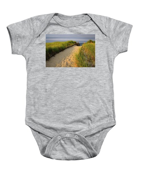 Down To The Sea Baby Onesie