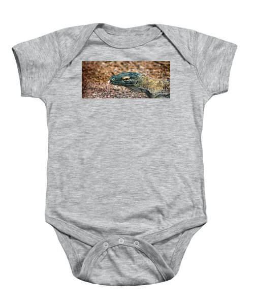 Dragon With No Fire Baby Onesie