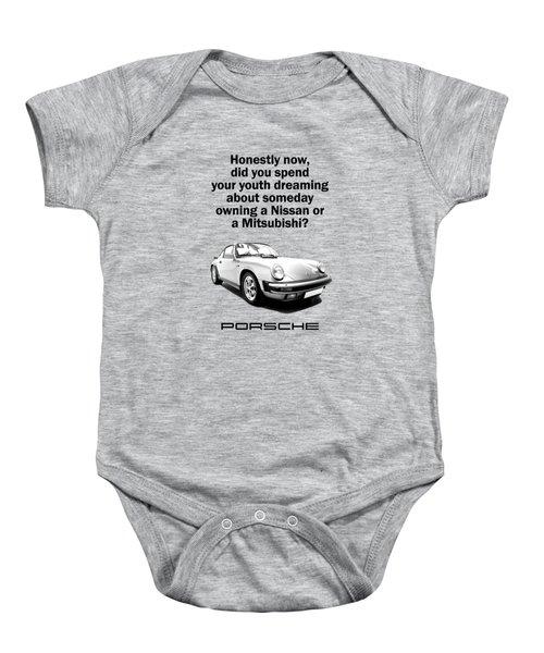 Dreaming Of A Porsche Baby Onesie