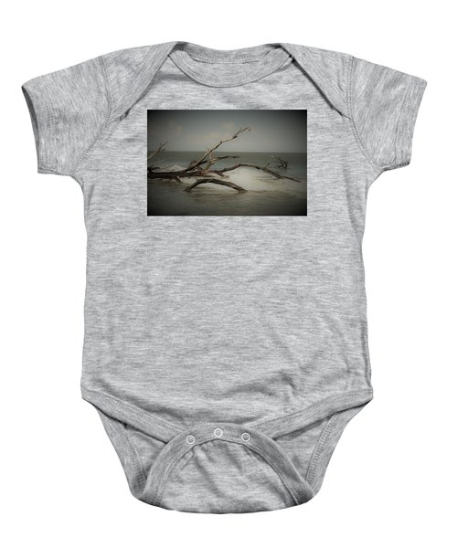 Drifting Along With The Tide Baby Onesie