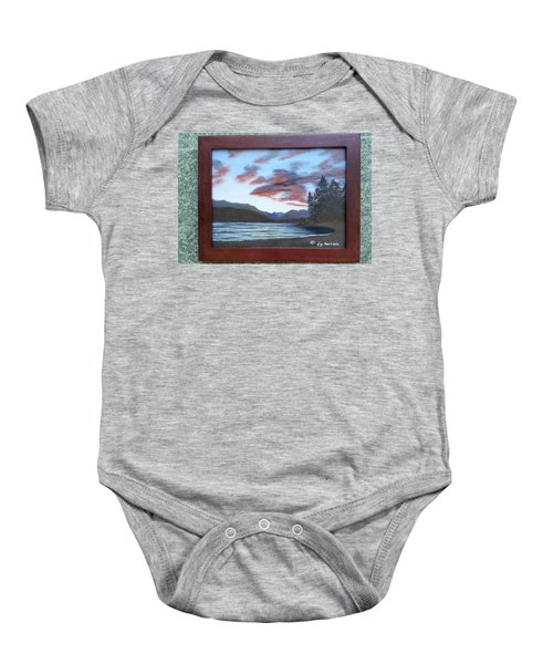 Dutch Harbour, Evening Sky Baby Onesie