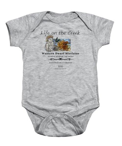 Dwarf Mistletoe Baby Onesie