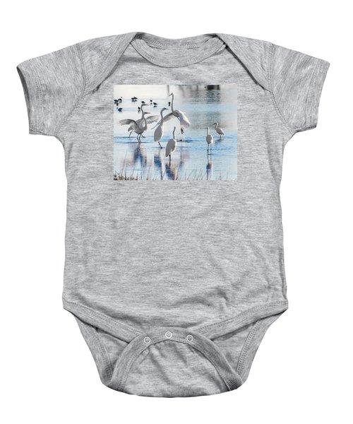 Egret Ballet 1400 Baby Onesie